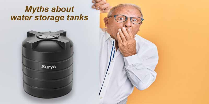 Myths about water storage tanks