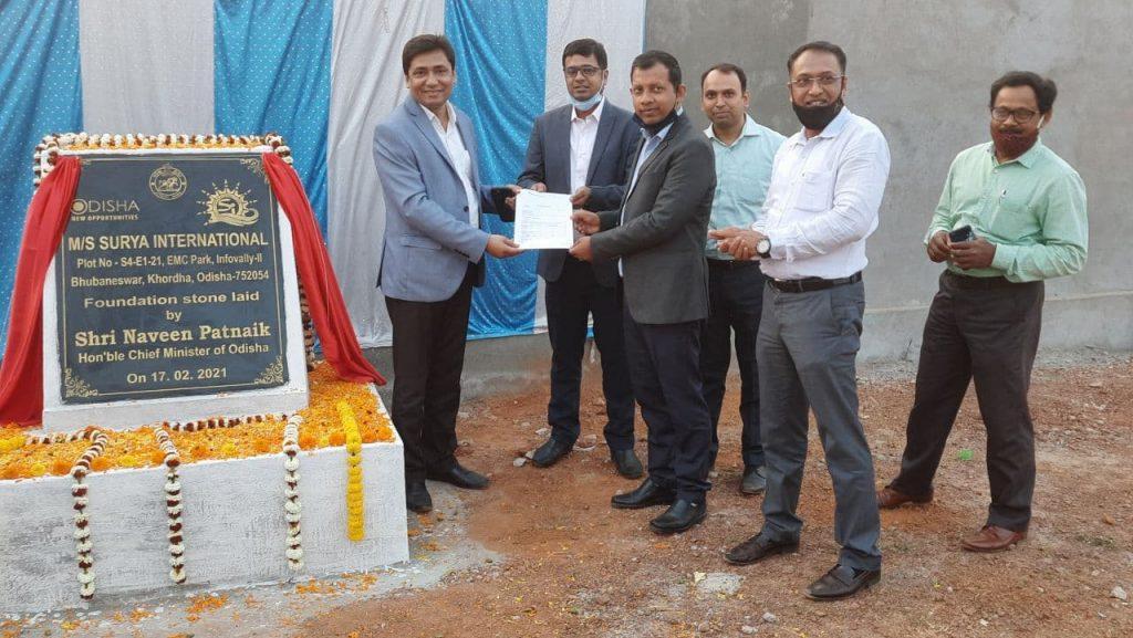 Surya International Ground Breaking Ceremony inaugurated